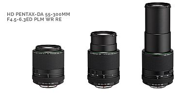 Pentax DA 55-300mm new